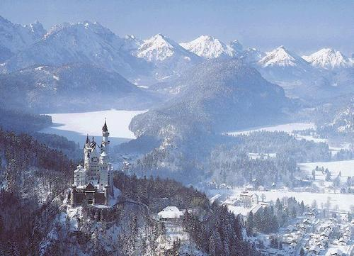 Castles wallpaper titled Neuschwanstein Castle