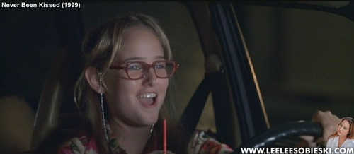 Leelee Sobieski 壁纸 titled Never Been Kissed