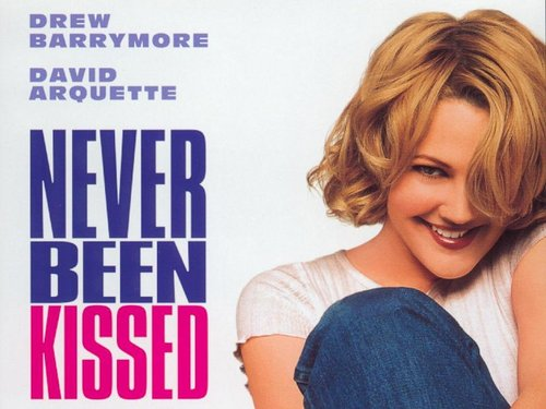 Filem kertas dinding entitled Never Been Kissed