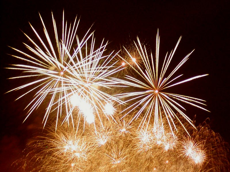 New Years Fireworks - New Year Celebrations Wallpaper (482909 ...