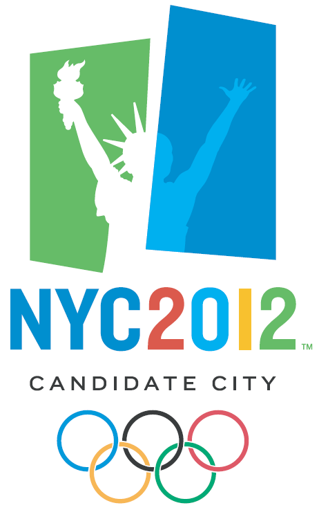 London 2012 Logo Olympics. New York City Logo