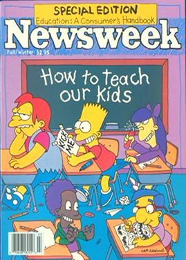 Newsweek Simpsons Covers