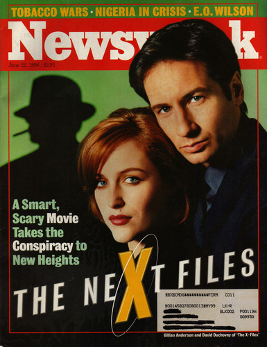 The X-Files achtergrond entitled Newsweek