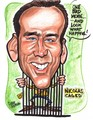 Nick Cage Caricature - national-treasure fan art