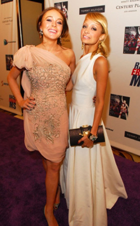 Nicole & Lindsay Lohan