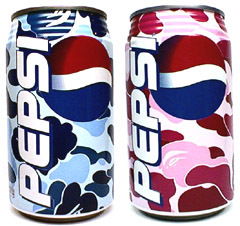 Bape Pepsi Cans