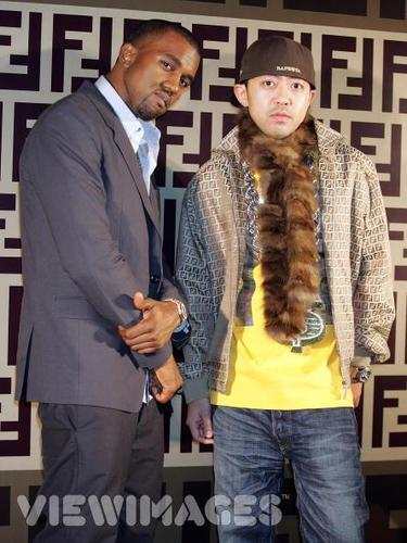 Nigo and Kanye - bape Photo