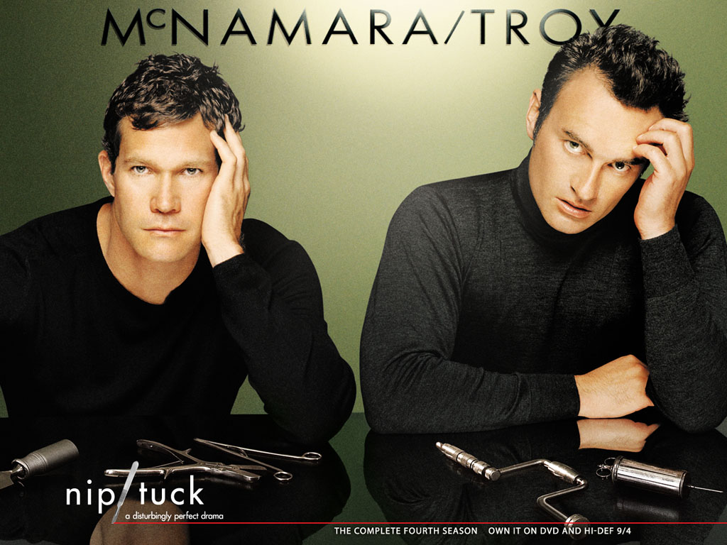 sean and christian nip tuck wallpaper 220115 fanpop. Black Bedroom Furniture Sets. Home Design Ideas