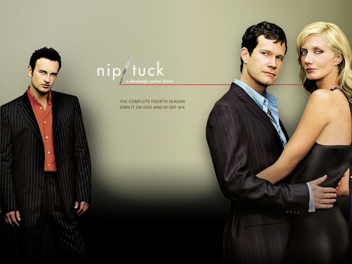 Nip/Tuck wallpaper titled Sean, Christian, & Julia