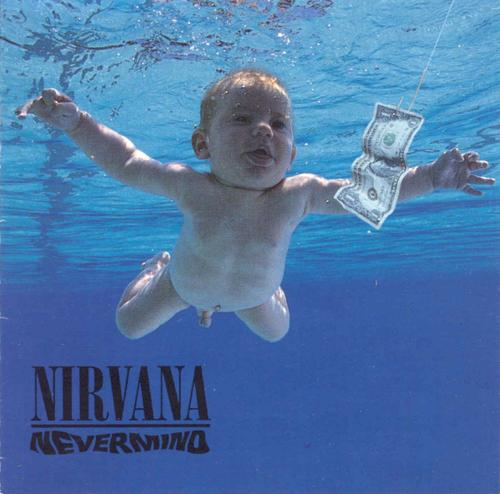 The 90s wallpaper titled Nirvana- Nevermind