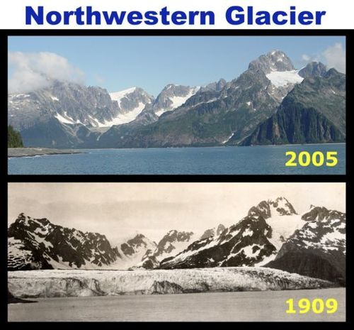 Global Warming Prevention wallpaper called Northwestern Glacier