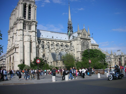 Notre Dame in Paris, France - france Photo