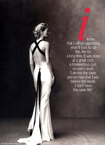 Vogue wallpaper called November 2003: Uma Thurman