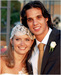 Nuno Gomes wedding - soccer icon