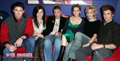 OTH cast on TRL