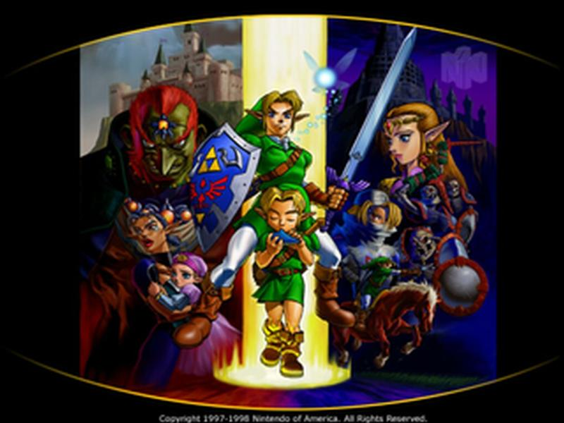 Ocarina of time, two Hyrules