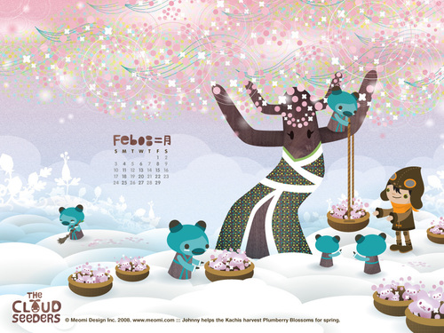 Cloudseeders: Feb '08 Calendar
