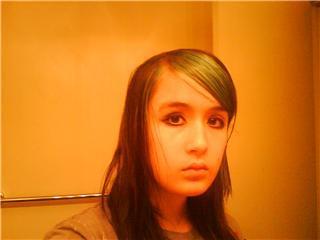 Oh yes i did dye my hair blue