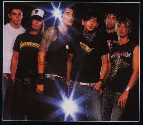 Old Kerrang photoshoot