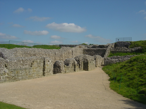 Old Sarum schloss