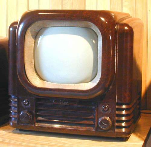 televisi wallpaper entitled Old School TV