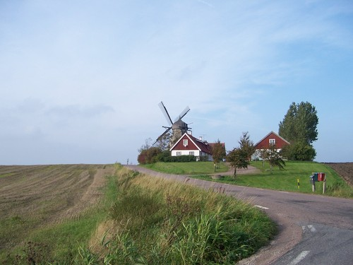 Old Wind Mill - scandinavia Photo