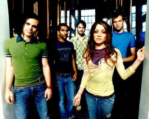 Flyleaf wallpaper called Old
