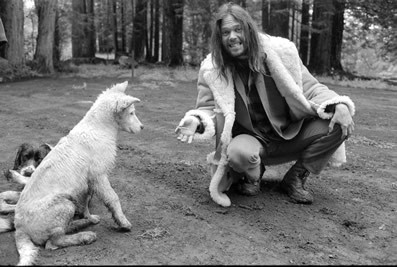 Neil Young Обои called On His Ranch