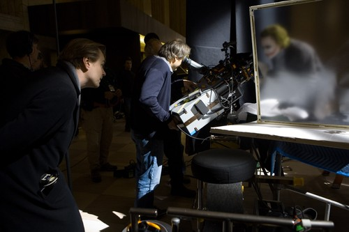 On Set of The Dark Knight
