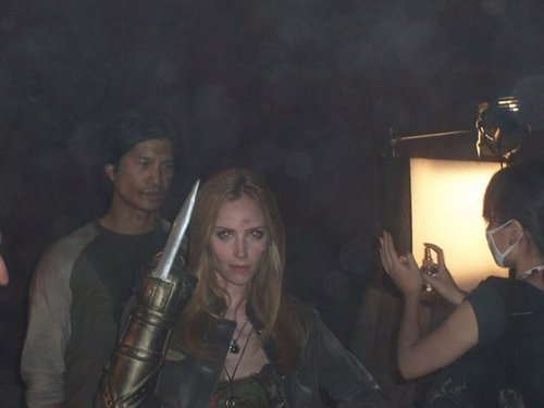 On The Set of The Gauntlet