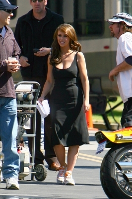 On the Set of Ghost Whisperer