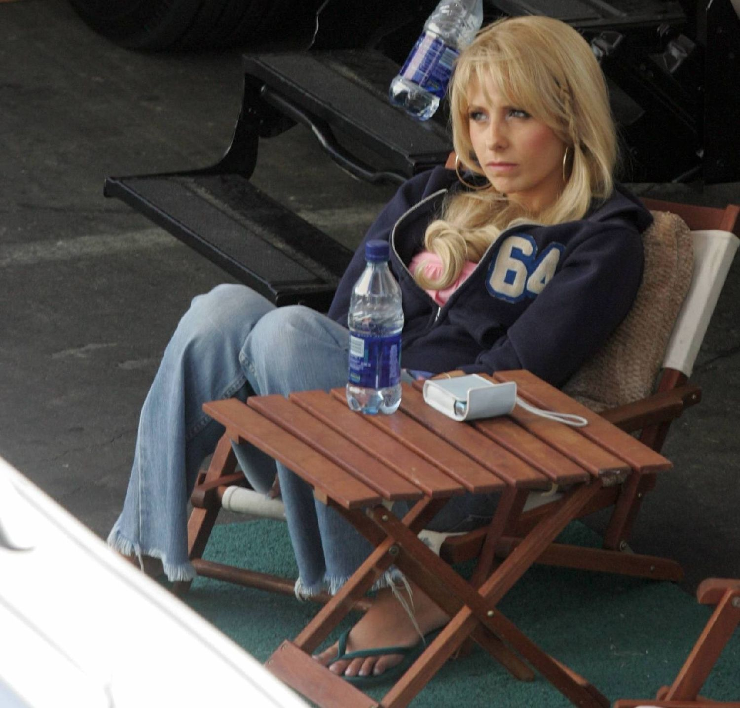 On the set of Southland Tales