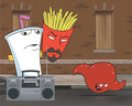 One the Street - aqua-teen-hunger-force photo