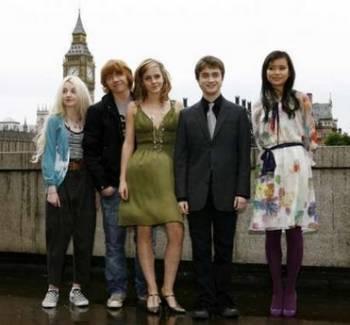 OotP Cast in 런던