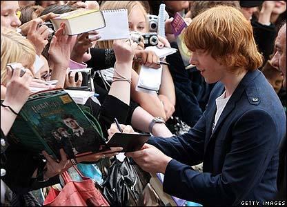 OotP London Premiere - Rupert