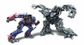 Optimus versus Megatron - transformers photo