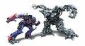 Optimus versus Megatron