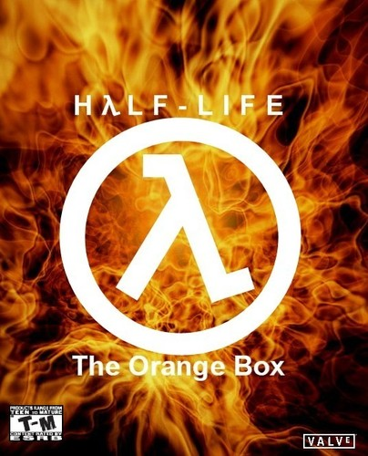 Half Life wallpaper entitled Orange Box Fan Cover