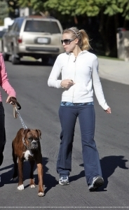 Out walking in Studio City