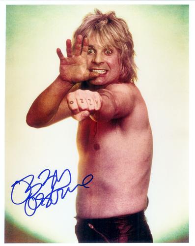 Ozzy Osbourne signed fotografia
