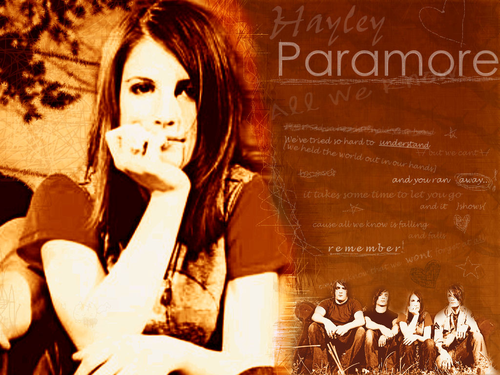 Paramore Paramore Wallpaper 441747 Fanpop