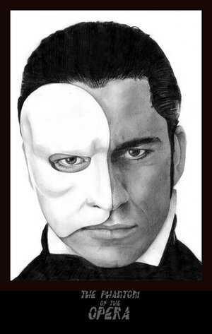 POTO - the-phantom-of-the-opera Fan Art