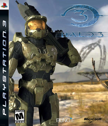 Halo wallpaper titled PS3