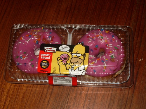 Package of Pink Donuts