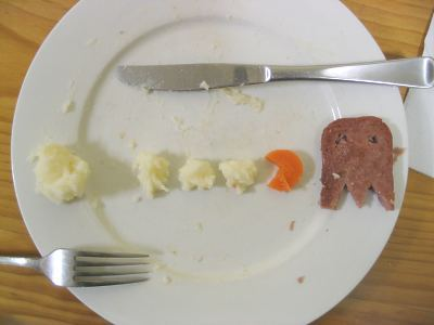 Pacman nourriture