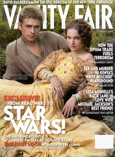 Padme and Anikan - annie-leibovitz Photo