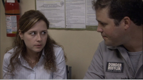 Pam and Roy in Hot Girl