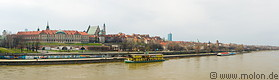 Panorama view over Warsaw