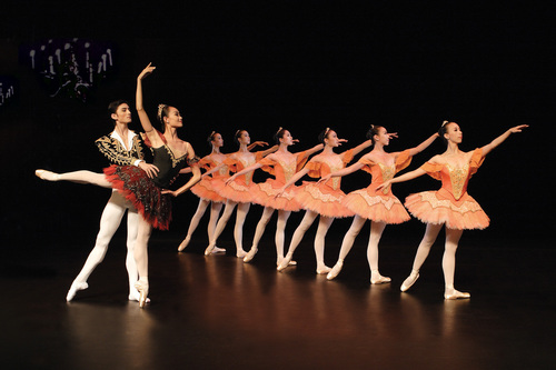 Ballet wallpaper titled Paquita Wallpaper