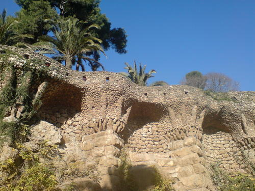 Parc Güell, Barcelona - architecture Photo